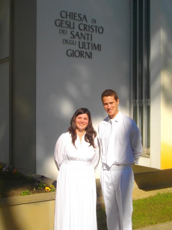 italian mormon baptism